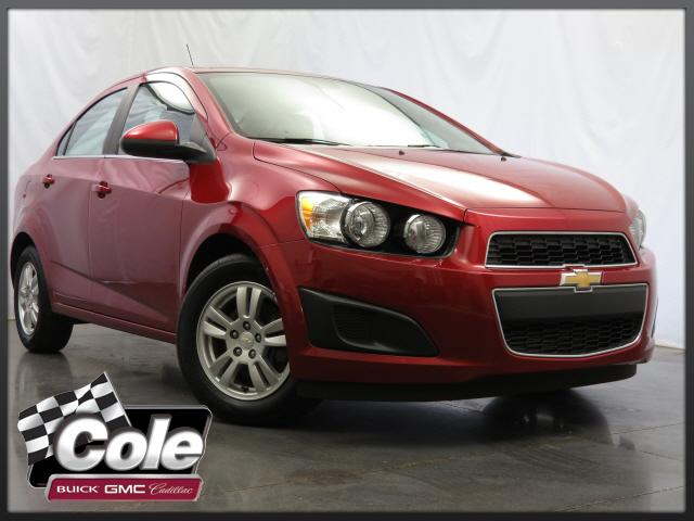 Certified Used Chevrolet Sonic 4dr Sdn Manual LT